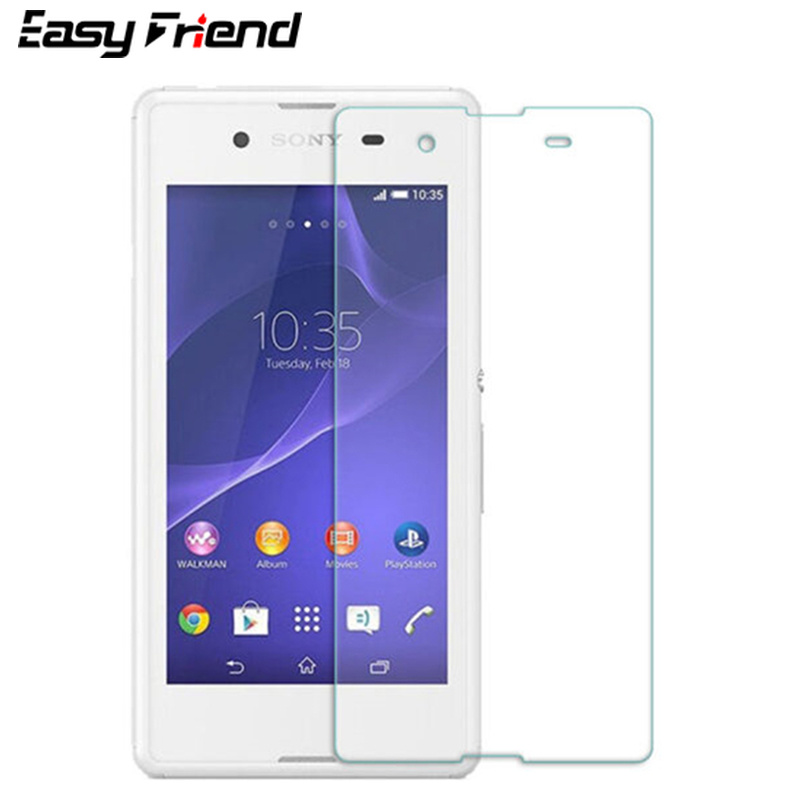 For <font><b>Sony</b></font> <font><b>Xperia</b></font> <font><b>E3</b></font> <font><b>D2202</b></font> D2203 D2206 Dual D2212 Screen Protector Protective Film Guard Premium Tempered Glass image