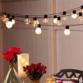 Novelty 5m 20 G45 LED String Lamp Globe Connectable Festoon Party Ball led Christmas fairy Lights wedding garden pendant garland