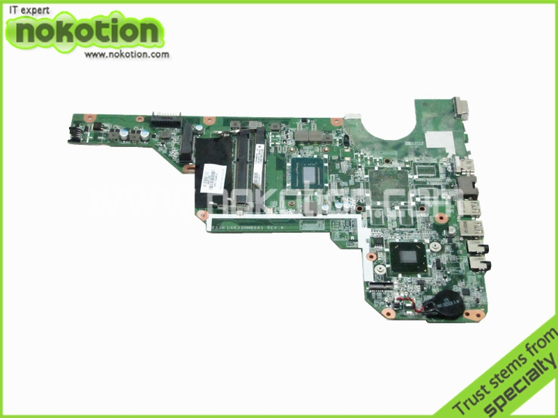laptop motherboard For HP Pavilion G6 G6-2000 i3-3110M 710873-001 DDR3 Mother Board full tested  new 649288 001 intergrated motherboard system board for hp hp pavilion g6 g6z g6 1000