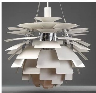 The Danish 38cm Dining Room Lamp Stage Ph Artichoke Pendant White Chandelier Pinecone In Lights From Lighting On Aliexpress