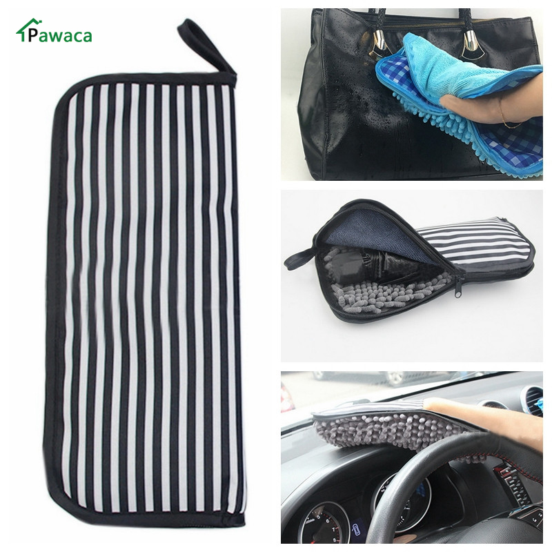 Pawaca New Protable Water Absorption Umbrella Storage Bags Water Cleaning Cloth Umbrella Covers Bag Organizer