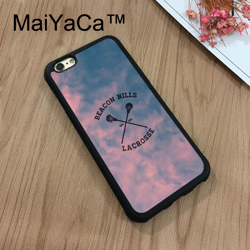 MaiYaCa Beacon Hills Cyclones Teen Wolf Style Soft Phone Case For iphone 8 Cover Original Coque For iphone 8 Fitted Back Cases