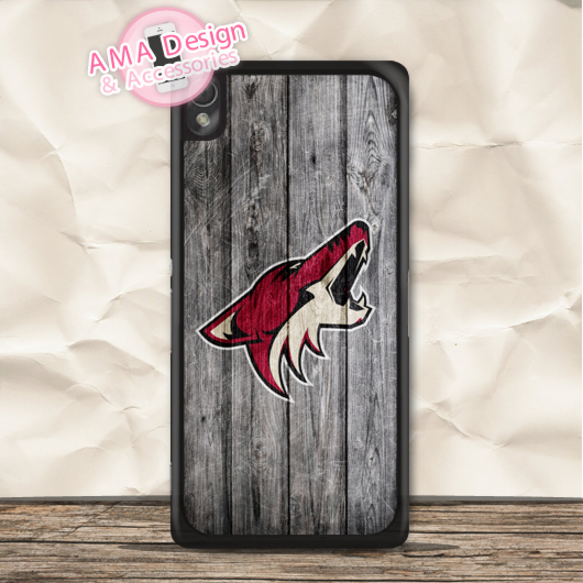 Ice Hockey Arizona Coyotes Case For Sony Xperia Z5 Z4 Z3 compact Z2 Z1 Z E4 T3 T2 SP M4 M2 C3 C