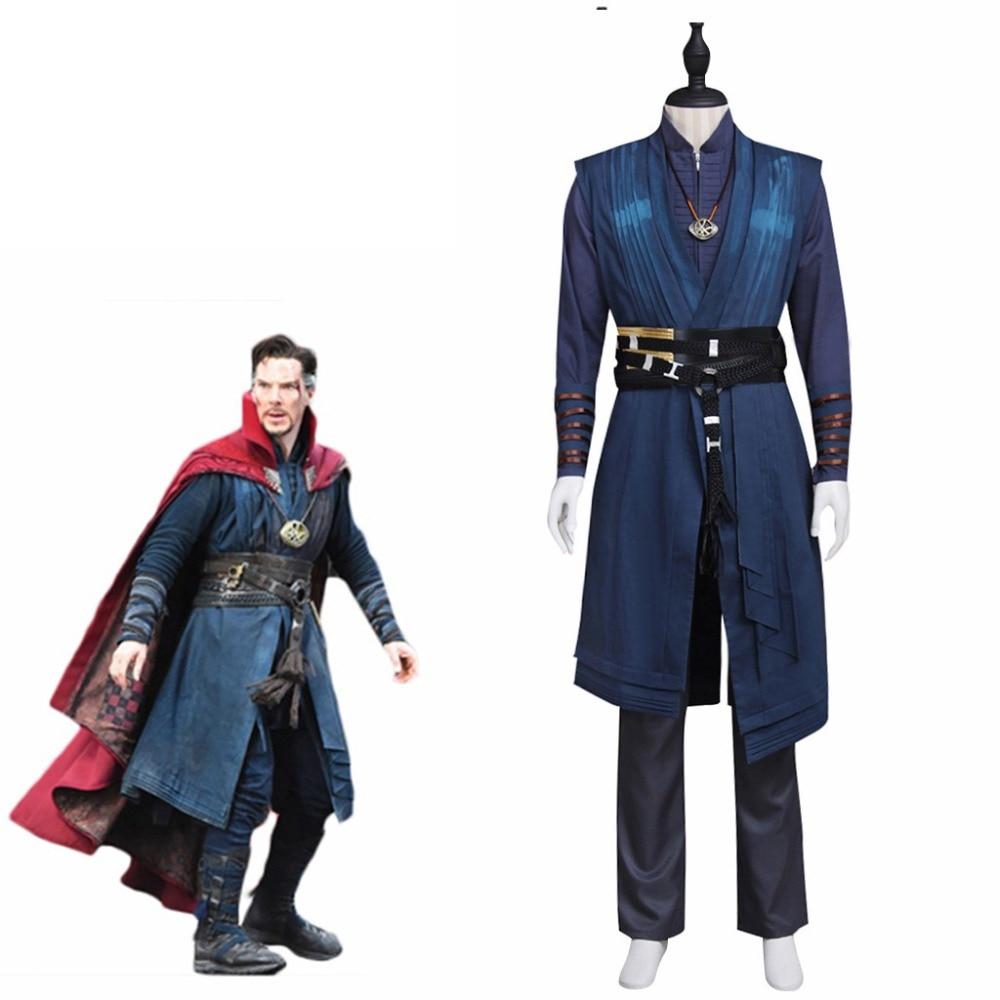 Cosplaydiy Doctor Strange Avengers Doctor Dr.Steven Vincent Strange Benedict Cumberbatch Costume Mens Halloween Suit L320