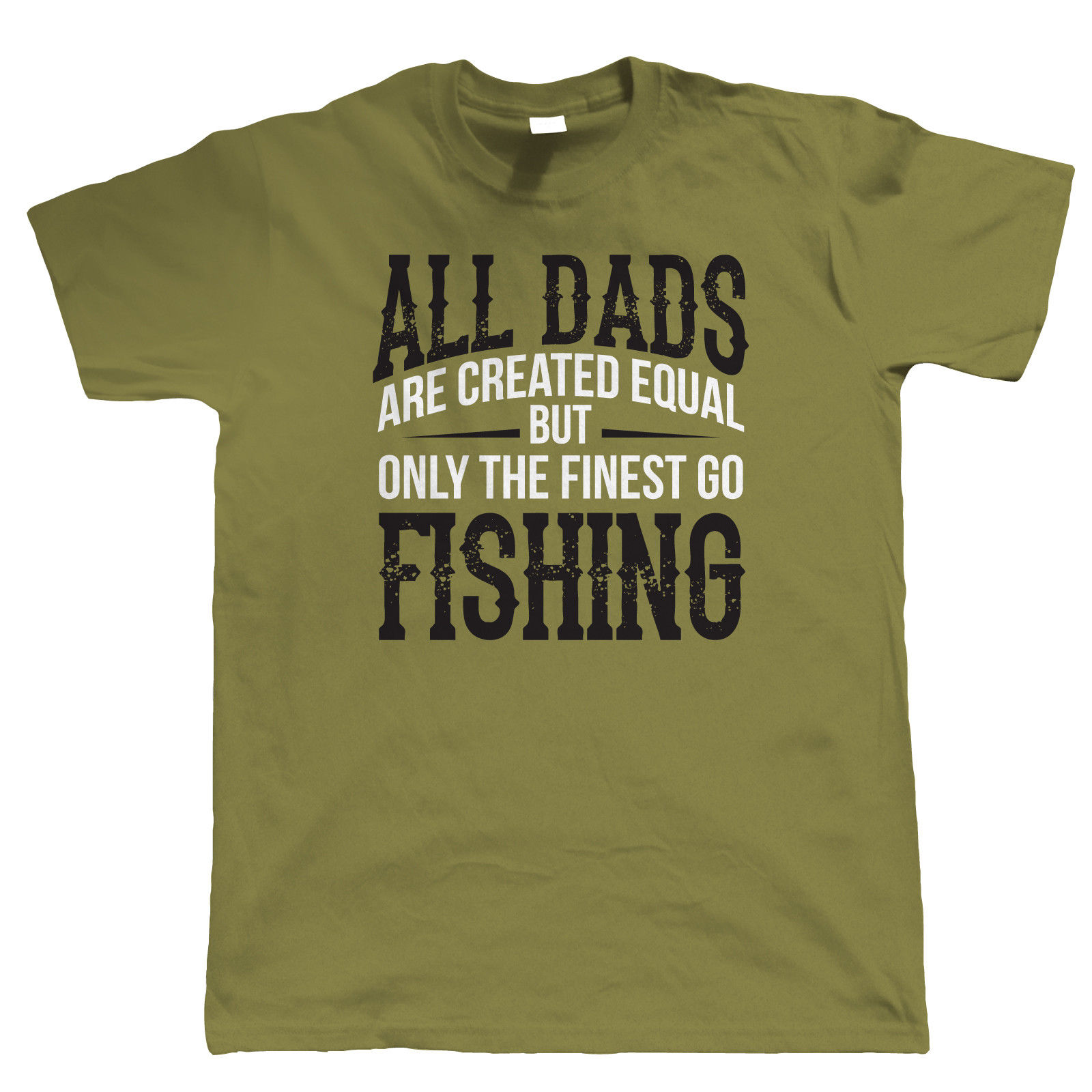 Finest Dads Go , Mens T Shirt - Fathers Day Birthday Carp Gift Dad Xmas New T Shirts Funny Tops Tee New Unisex Funny Tops