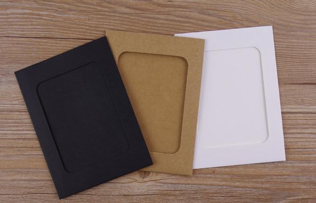 Online Shop 6inch photo diy handmade cardboard brief photo frame ...