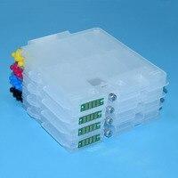 GC31 Cartucho de tinta recarregáveis Com ARC Chip para Ricoh e2600 e3300 e3300n e3350n e5050n e5500 e5550n e7700 gx7500 impressora