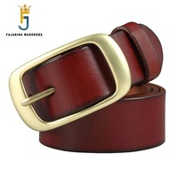 FAJARINA Top Quality Mens 100 Cow Cowhide Leather Belt Extend XXXXX Large 105 165cm Length 38mm