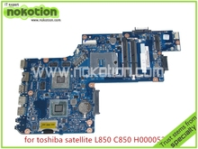 H000052560 Laptop Motherboard for toshiba Satellite L850 C850 Intel DDR3 HD4000+216-0810028 ATI Graphics Mainboard nokotion v000185570 6050a2313501 main board for toshiba satellite l505 laptop motherboard hm55 ddr3 hd4500 discrete graphics