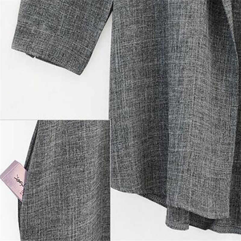 Plus Größe 5XL Frühling Herbst frauen Dünne Jacke 2019 Mode Lose Große Größe Beiläufige Lange Strickjacke Mäntel Weibliche Windjacke 1071