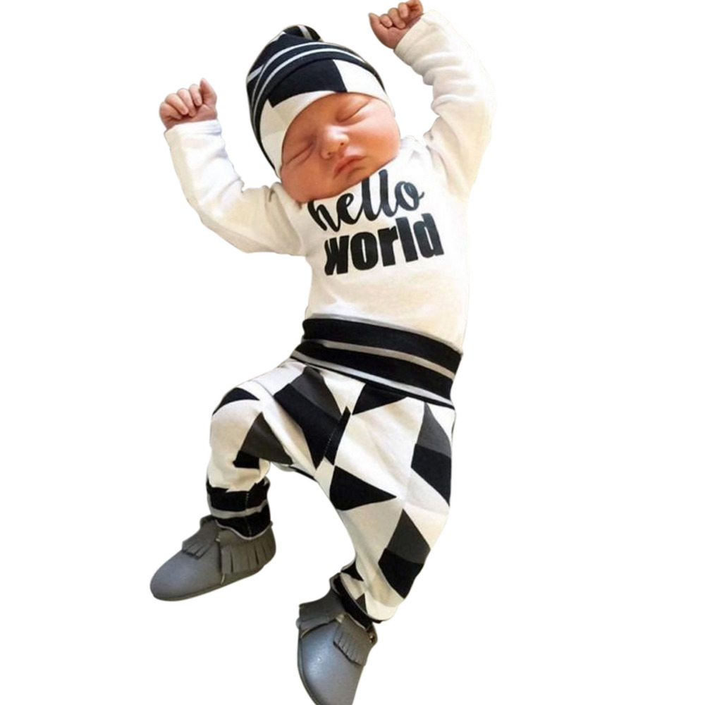fd33dd6a13f Buy hello world newborn outfit and get free shipping on AliExpress.com