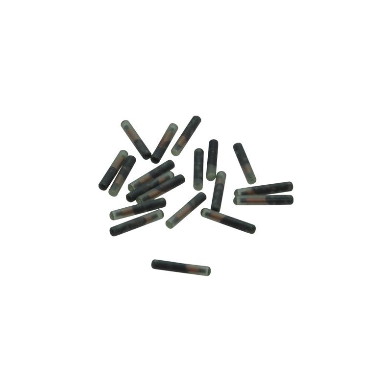 60pcs  1.4*8mm FDX-B Rfid Glass Tube Tag Transponder Chip for Animal Id Tracking iso11784 5 fdx b em4305 long range 134 2khz rfid animal ear tag for cow sheep management