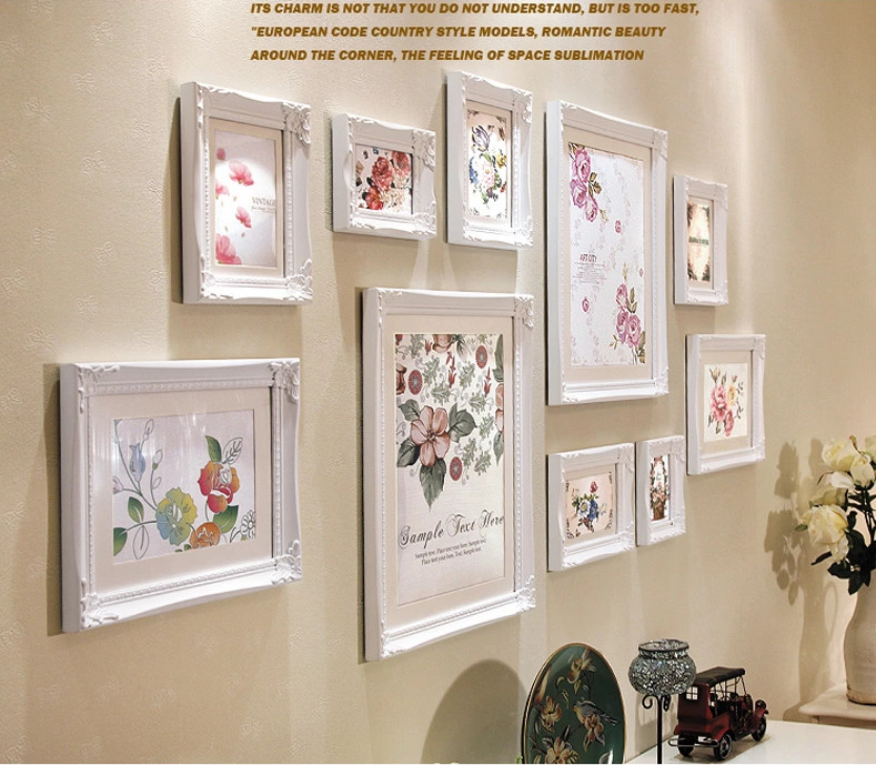 Freeshipping Paper Frames For Photoswedding Picture Frames