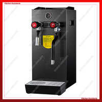 RC800 Electric Steam Water Boiler Tea Boiler Milk bubble maker Machine for commercial bar and store