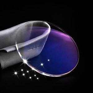 Image 5 - Линзы Handoer с высоким индексом 1,67, антирадиационная защита, асферические линзы с одним зрением и защитой от УФ лучей, линзы по рецепту, 2 шт.