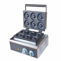 CE Proved Electric Commercial Stainless steel Donut Maker/ Doughnut Making Machine with Good Price