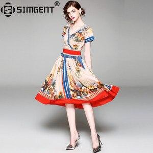 Simgent Летняя женская футболка с короткими рукавами с треугольным вырезом на шее Hollow Out с принтом в стиле «петчворк»; Повседневный или офисный ...