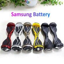 Hot 6.5 pulgadas eléctrico auto equilibrio Scooters en dos ruedas inteligente Scooters Skateboard Hoverboard tabla de equilibrio de la batería de Samsung N7