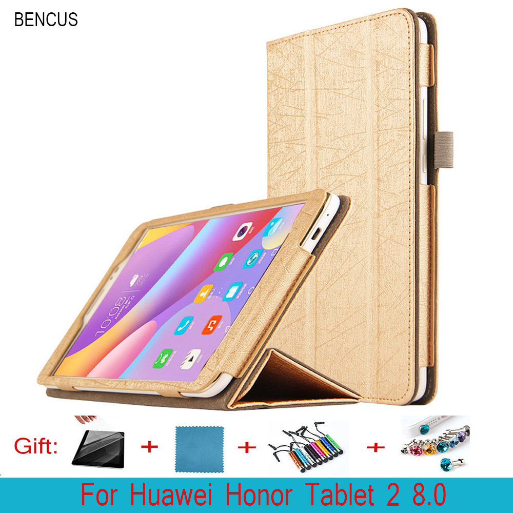 BENCUS Huawei Honor Tablet 2 8.0 JDN-AL00 JDN-W09 PU Leather Case 8 Inch Ultra Thin Foldable Stand Cover Huawei Honor Tablet 2