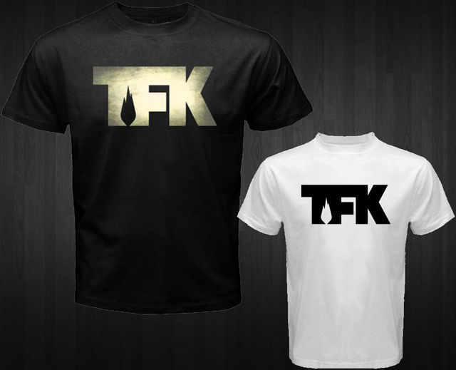 US $12 84 |New TFK Thousand Foot Krutch Rock Band Men's White Black T Shirt  Size S to 3XL Personality-in T-Shirts from Men's Clothing on
