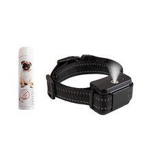 Black Training Collar Efficient Durable Portative Auto Spraying Utility Anti-Bark Device for Dogs Puppy Training Outdoor(China)