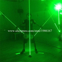 New Design Hand Green Laser Swords Laserman Show Pointers Projector Control By Feet For Stage Laser Dance Show DHL Free Shipping