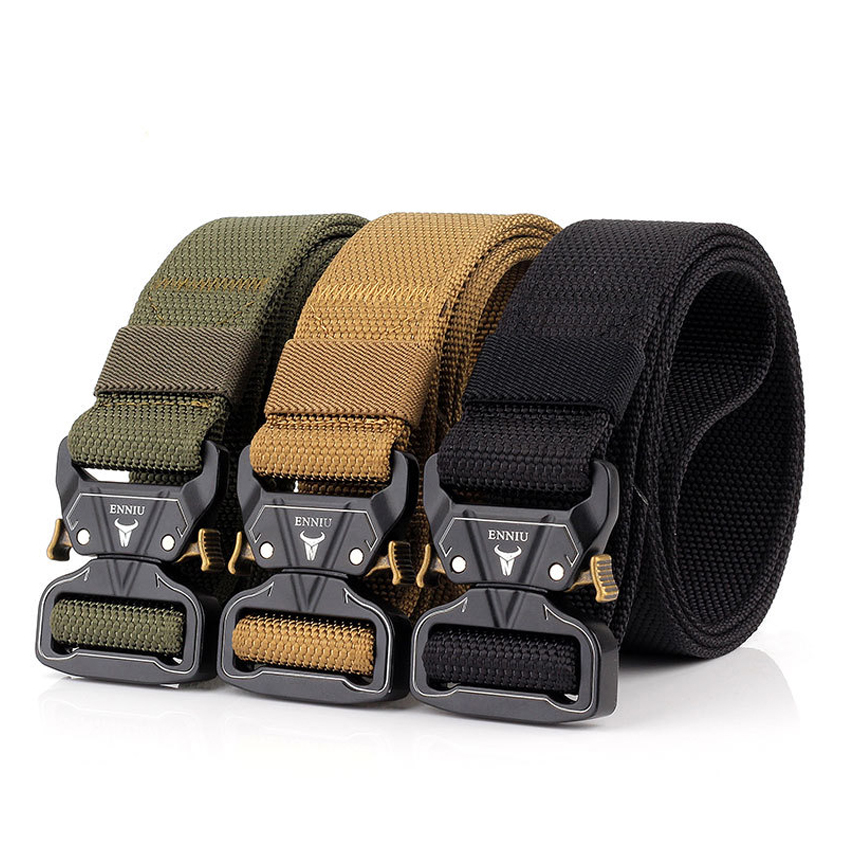 Military Equipment Army   Belt   Men Tactical Designer Canvas Jeans   Belt   Casual Thick Nylon Black   Belt   Waist   Belt   Men Accessories