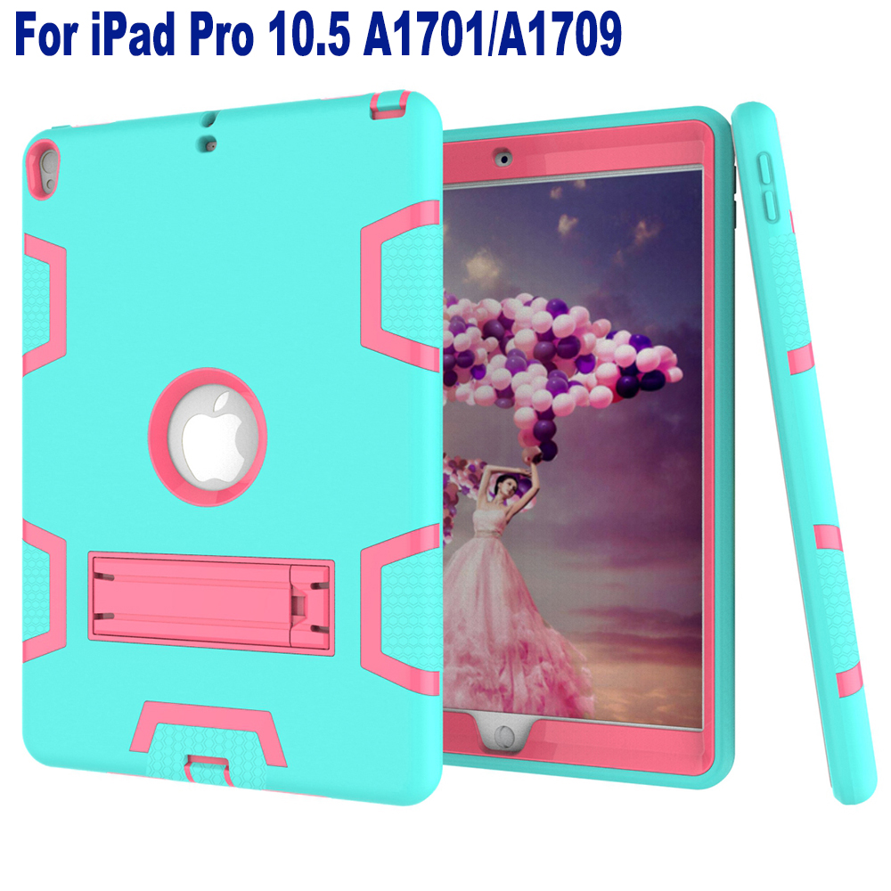 Stand Tpu Case For Ipad Pro 10 5 Cover Heavy Duty Hybrid Silicon Rugged Armor Shockproof Hard Case Cover For Apple Ipad10 5 Inch Tablets E Books Case Computer Office Aliexpress