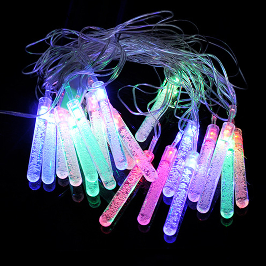 YINGTOUMAN 4m 20LED EU/US Plug Christmas Garland String Christmas Lights Fairy Party Gar ...