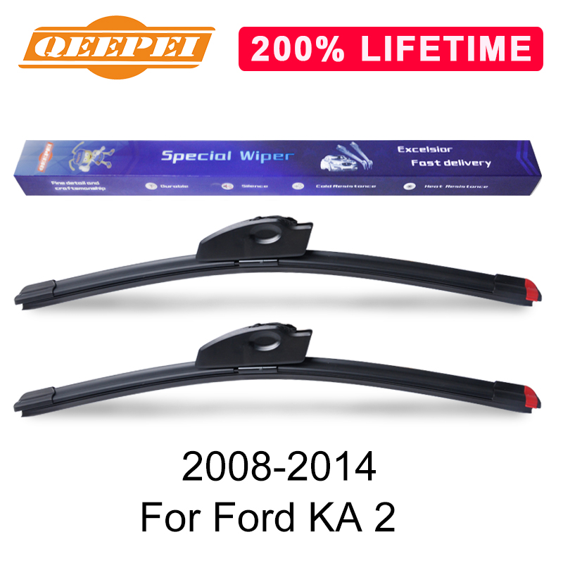 Qeepei Replace Wiper Refill Windscreen Wiper Blades For Ford Ka  Windshield Rubber