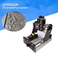 ZONESUN 3axis Mini Diy Cnc Engraving Machine PCB Milling Engraving Machine Wood Carving Machine Cnc Router