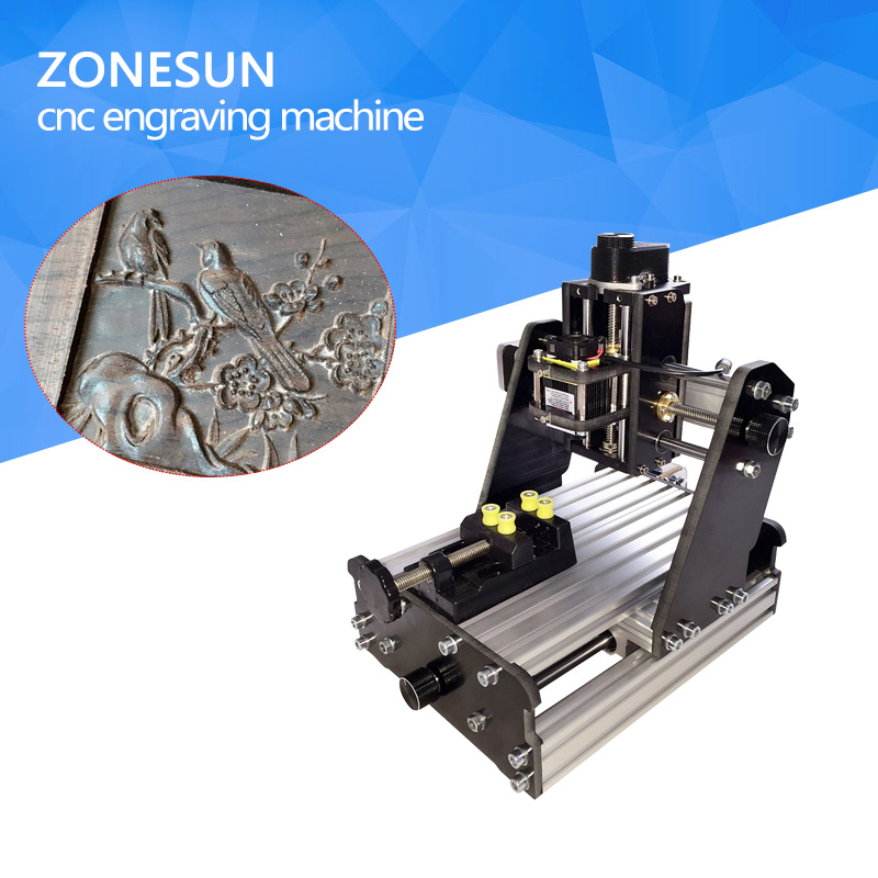 ZONESUN 3axis mini diy cnc engraving machine,PCB Milling engraving machine,Wood Carving machine,cnc router,cnc control mini cnc engraving machine for sale 6090 mach 3 control system