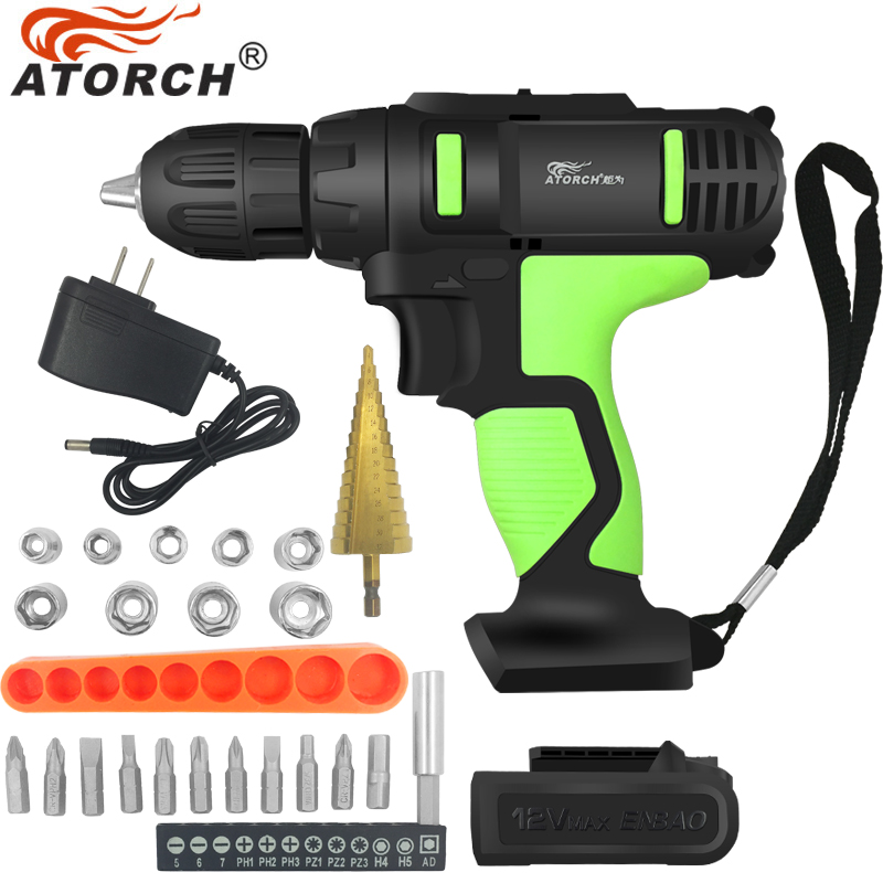 DGKS Electric battery Screwdriver cordless power tools rechargeable batteries 12v cordless screwdriver drill bit Spanner sleeve free shipping brand proskit upt 32007d frequency modulated electric screwdriver 2 electric screwdriver bit 900 1300rpm tools