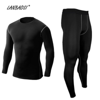 New Arrive Men S Compression Tights Sportswear T Shirt And Pant Set Fitness Exercise Training Crossfit
