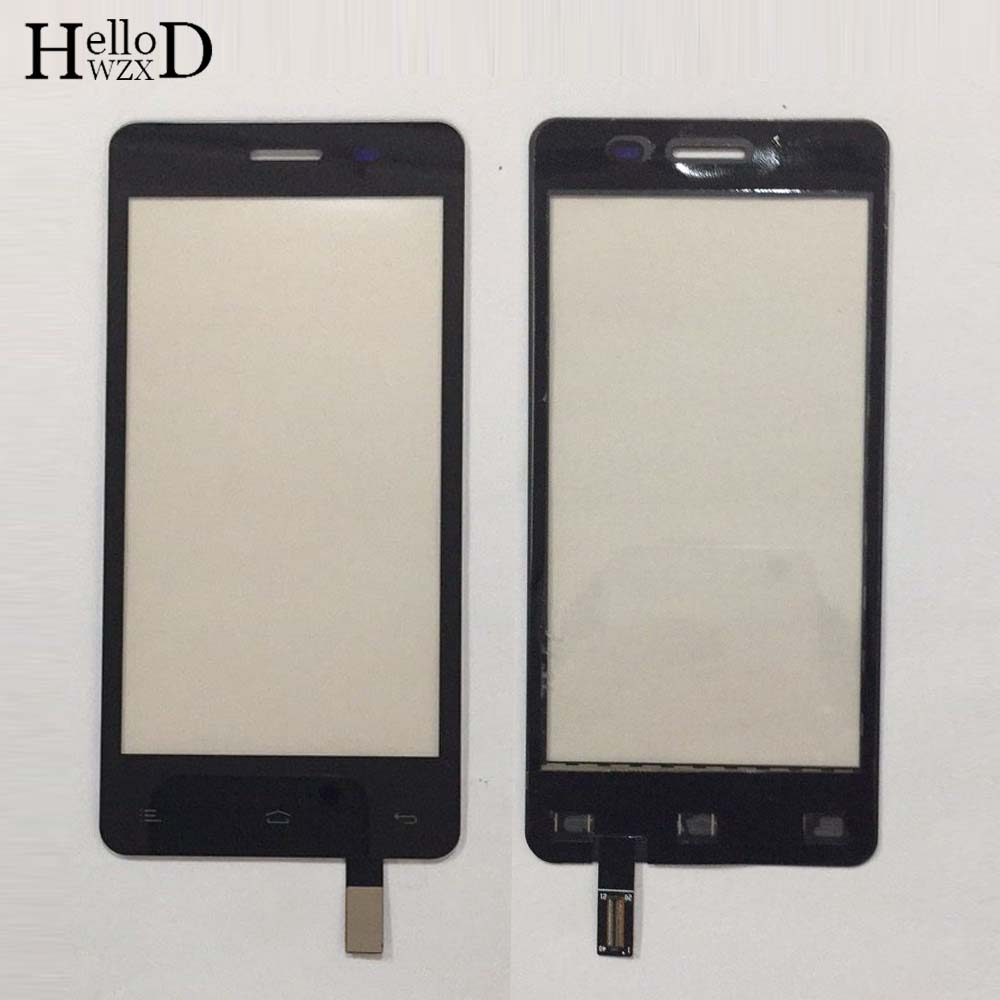 4.5'' Mobile Touch Screen For Fly IQ4403 IQ 4403 Touch Screen Digitizer Sensor Front Glass Panel Phone Parts + Protector Film