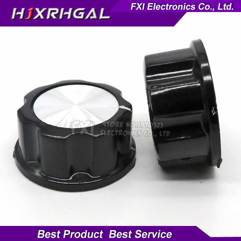 2pcs หมวก MF-A05 potentiometer ลูกบิด WH118 WX050 bakelite knob copper core ภายใน 6 มม.