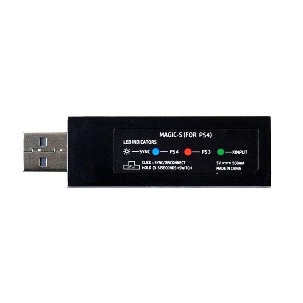 20 pcs Mayflash Magique S USB Sans Fil Contrôleur Joie-Con pour Xbox 360/One S/pour NS pro/Lutte bâton Gamepad Adaptateur pour PS4/PS3 PC