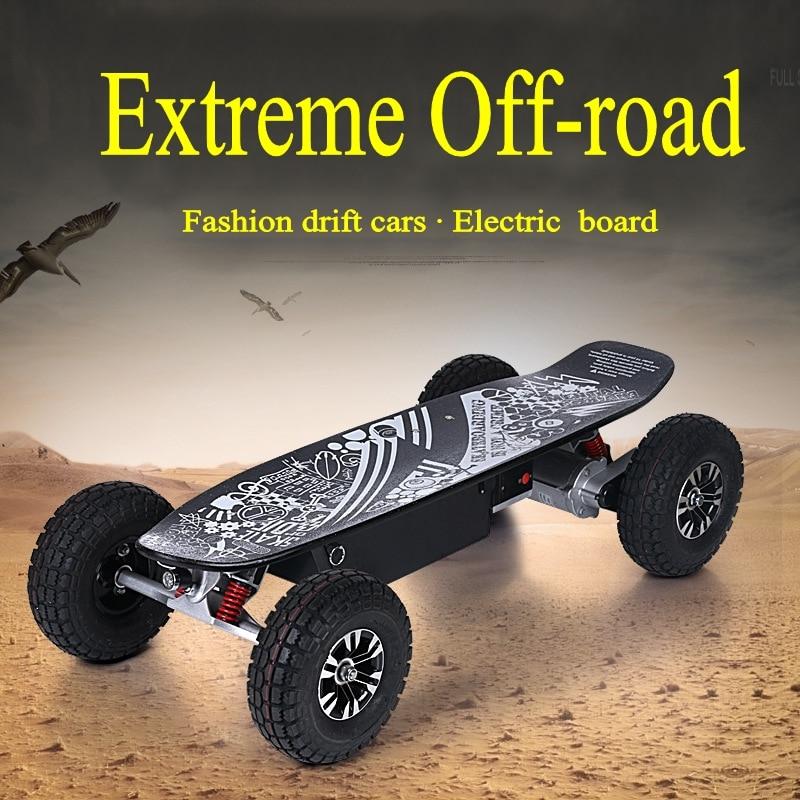 4 Ruote Auto Equilibrio Intelligente Scooter Elettrico Hoverboard Motorizzato Skateboard In Piedi Bordo Adulto Bilanciamento Motorino