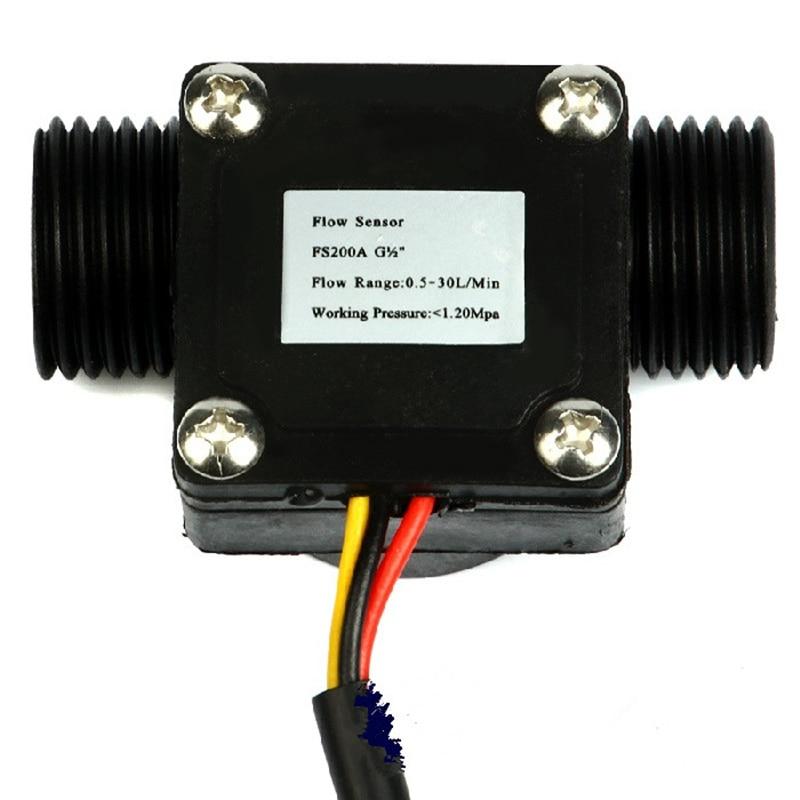 US $12 99  Cdragon Arduino flow sensor Holzer sensor 4 flow meter water  control machine water heater flow meter-in Replacement Parts & Accessories