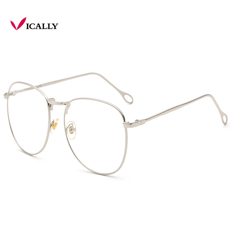 fc22bb993c Fashion Black Glasses Frame Women Men Square light Optical transparent  Clear Glasses Spectacles Eyeglass Nerd Glasses WarBLade