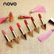 NOVO Brand Makeup 2018 New Velvet Long Lasting Lip Stick For Red Lips Waterproof
