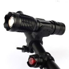 2017 New Bicycle Light 1200 Lumens 5 Mode T6 LED Bike Light Front Torch Waterproof + Rear Safety Flashlight Taillight