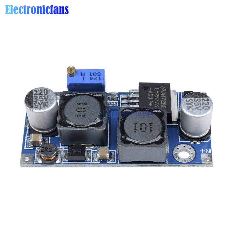 Back To Search Resultselectronic Components & Supplies Integrated Circuits Nice Dc-dc Auto Boost Buck Step Up Step Down Converter Module Solar Voltage Lm2577 Module