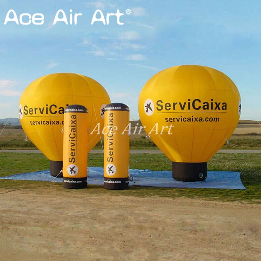 4m H attractive Giant Inflatable Advertising Balloon/ Inflatable advertising Round Standing for Sale