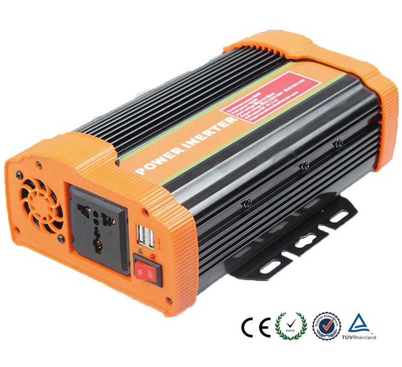 1pcs solar panel 1000W inverter DC12V to AC220V adapter with Dual USB port 4pcs Fuse for appliances. vm06 0040 n4 dual inverter new