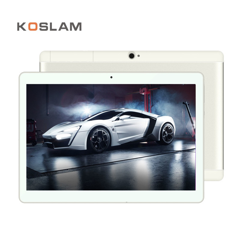 KOSLAM 10 Inch 3G Android 7.0 Tablet PC Phablet MT6580 Quad Core 1GB RAM 16GB ROM 10 1280x800 IPS Screen Dual SIM Card WIFI OTG 8 inch kids quad core tablet kidoz pre installed 2gb ram 16gb rom 1280 800 ips display android 6 0 marshmallow android tablet