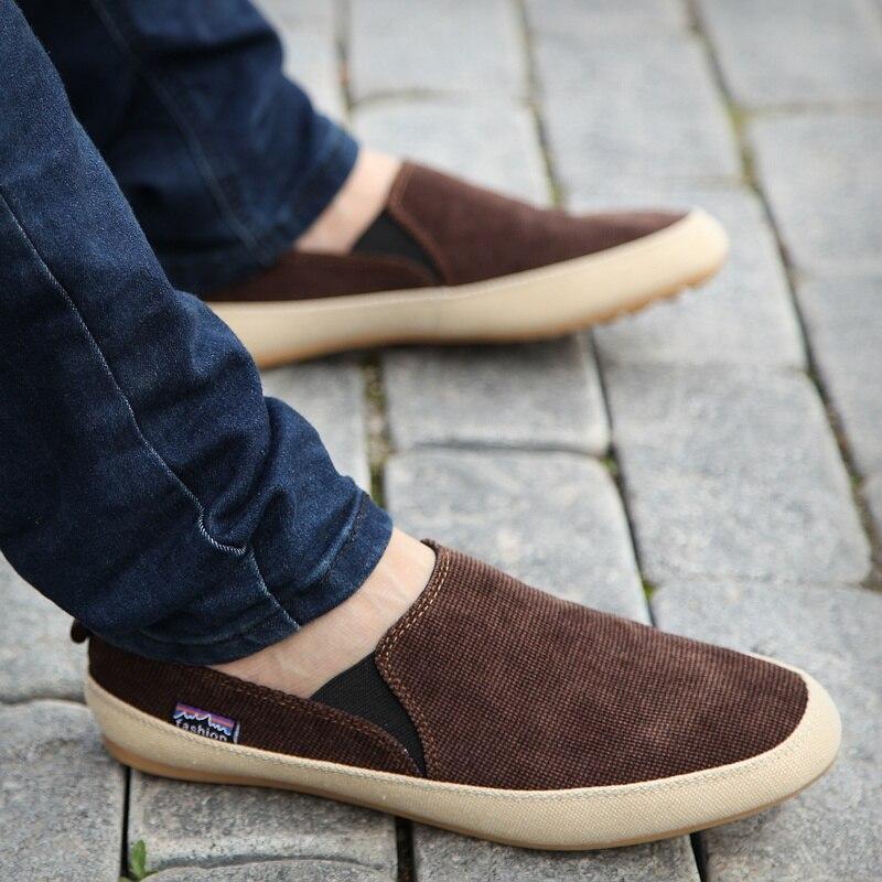 2020 Summer Canvas Shoes Men Breathable