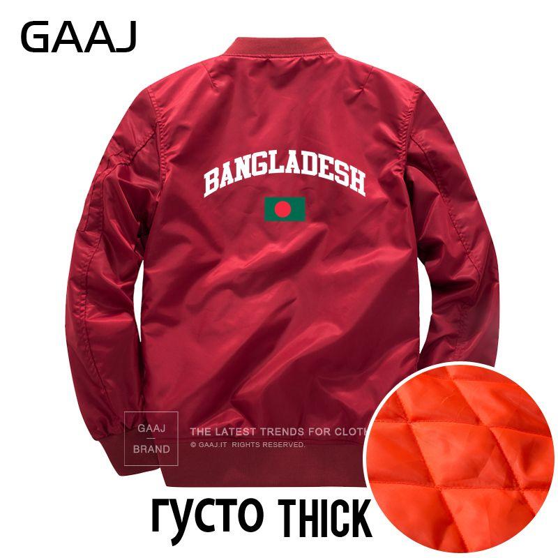 Veste Bangladesh Drapeau Hommes Vestes Cou O Style Gaaj Militaire POw4qa4
