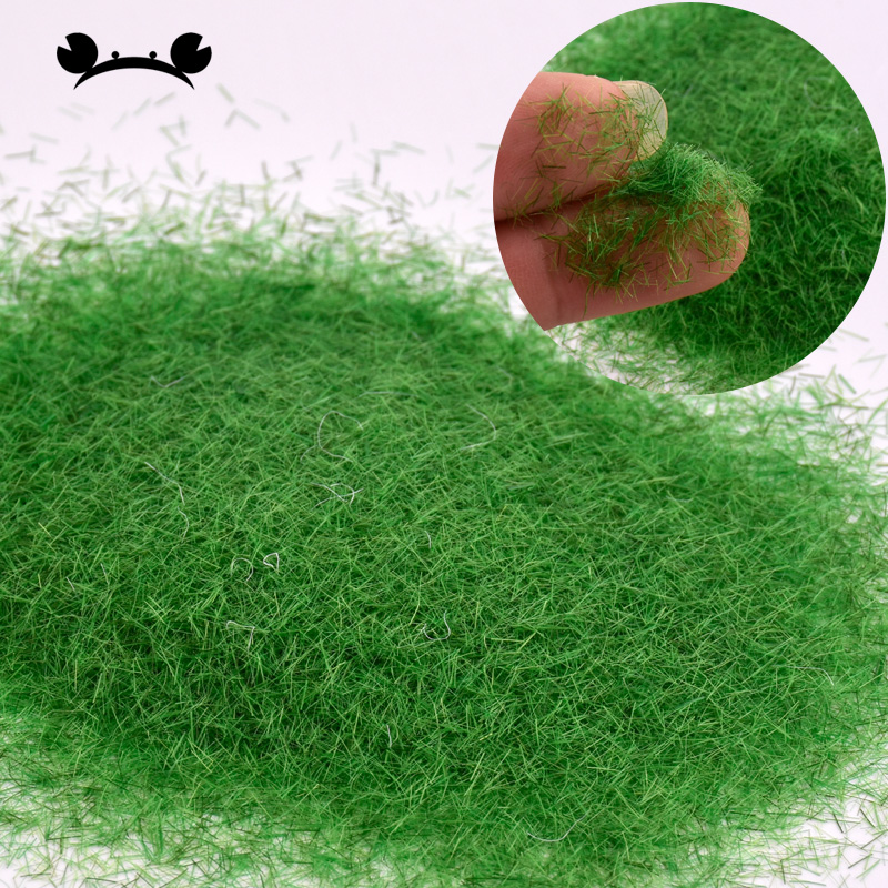 Artificial Grass Powder Micro Landscape Decoration Garden DIY Accessories Sandbox Game Craft Decor Building Model Material