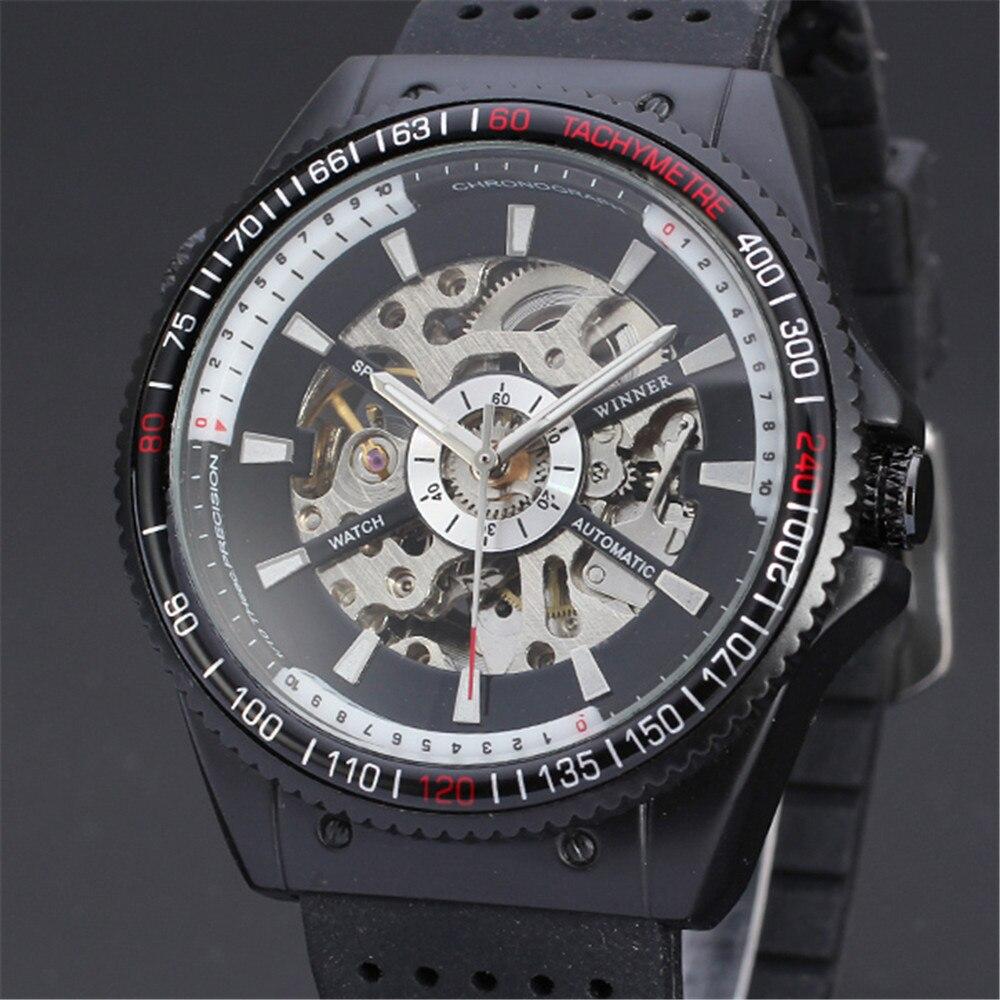 font b WINNER b font Men s Wrist Watch Top Brand Luxury Men Military Sport
